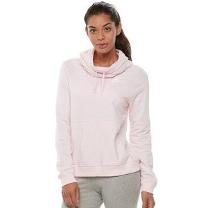 Nike Light Pink Funnel Neck Hoodie